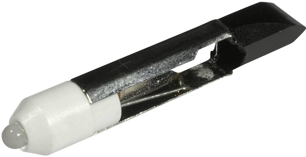LEDžiarovka CML 1507525LW3, T 6.8, 12 V/DC, 12 V/AC, 1530 mcd, teplá biela