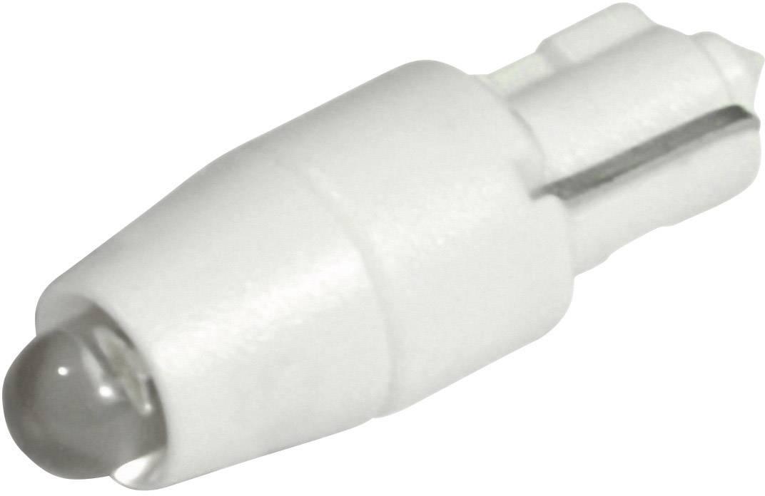 LEDžiarovka CML 1511A35W3D, W 2 x 4,6 d, 24 V/DC, 24 V/AC, 600 mcd, chladná biela