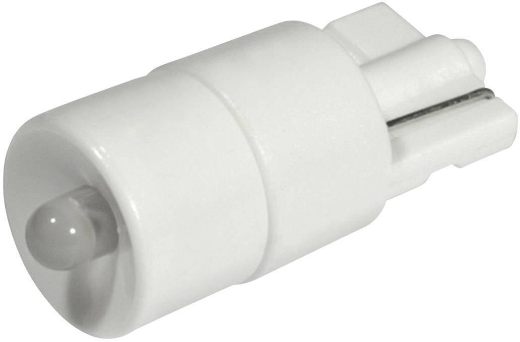LEDžiarovka CML 1511B25L3, W2, 1x9, 5d, 12 V/DC, 12 V/AC, 1620 mcd, teplá biela