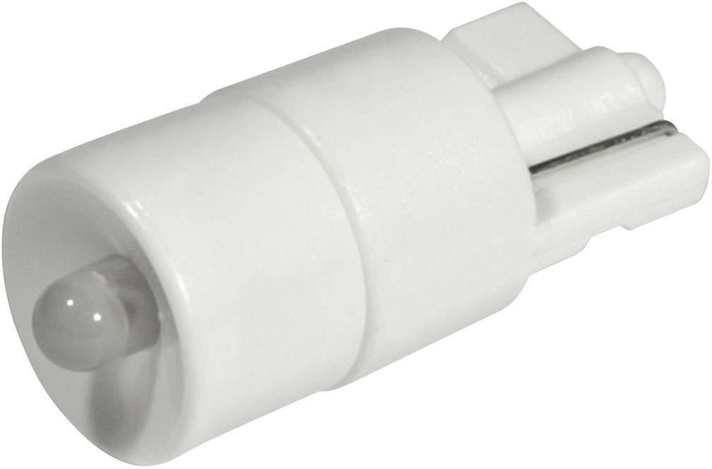 LEDžiarovka CML 1511B25W3, W2, 1x9, 5d, 12 V/DC, 12 V/AC, 1800 mcd, chladná biela