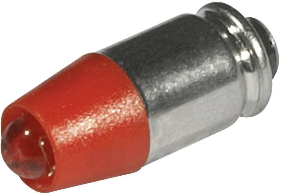 LEDžiarovka CML 1512525UR3, T1 3/4 MG, 12 V/DC, 12 V/AC, 330 mcd, červená