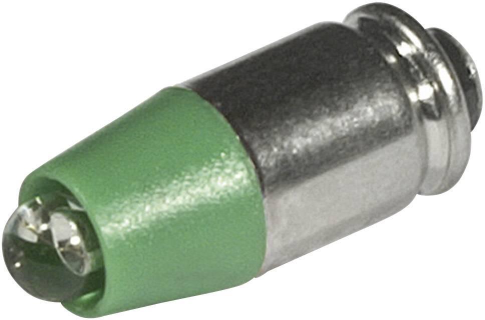 LEDžiarovka CML 1512535UG3, T1 3/4 MG, 24 V/DC, 24 V/AC, 2100 mcd, zelená