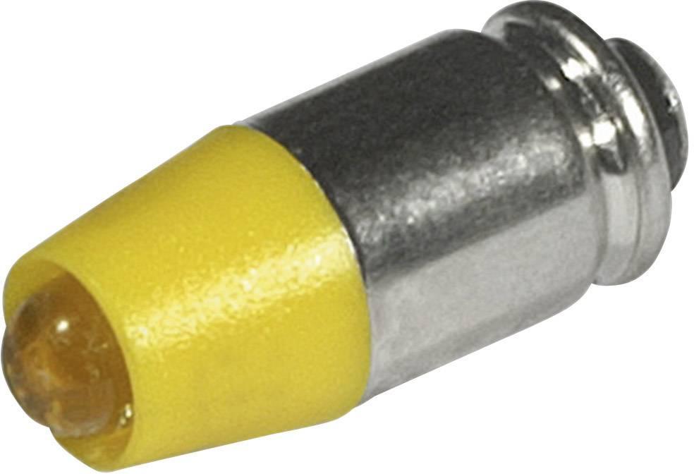 LEDžiarovka CML 1512535UY3, T1 3/4 MG, 24 V/DC, 24 V/AC, 280 mcd, žltá