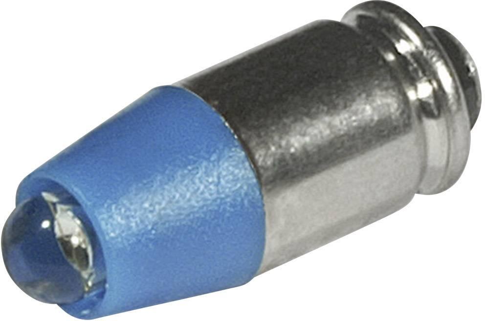 LEDžiarovka CML 1512535B3, T1 3/4 MG, 24 V/DC, 24 V/AC, 650 mcd, modrá