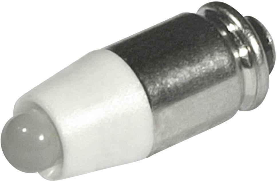 LEDžiarovka CML 1512535L3, T1 3/4 MG, 24 V/DC, 24 V/AC, 1260 mcd, teplá biela