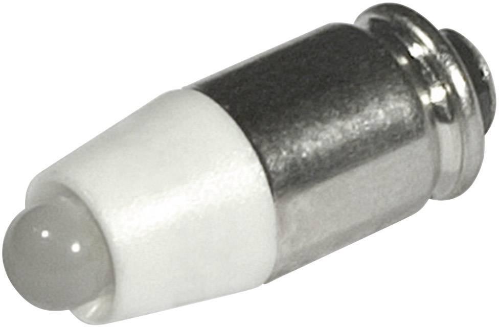 LEDžiarovka CML 1512535W3D, T1 3/4 MG, 24 V/DC, 24 V/AC, 750 mcd, chladná biela