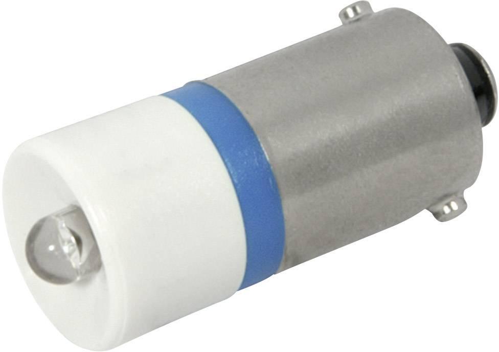 LEDžiarovka CML 18602257, BA9s, 12 V/DC, 12 V/AC, 720 mcd, modrá