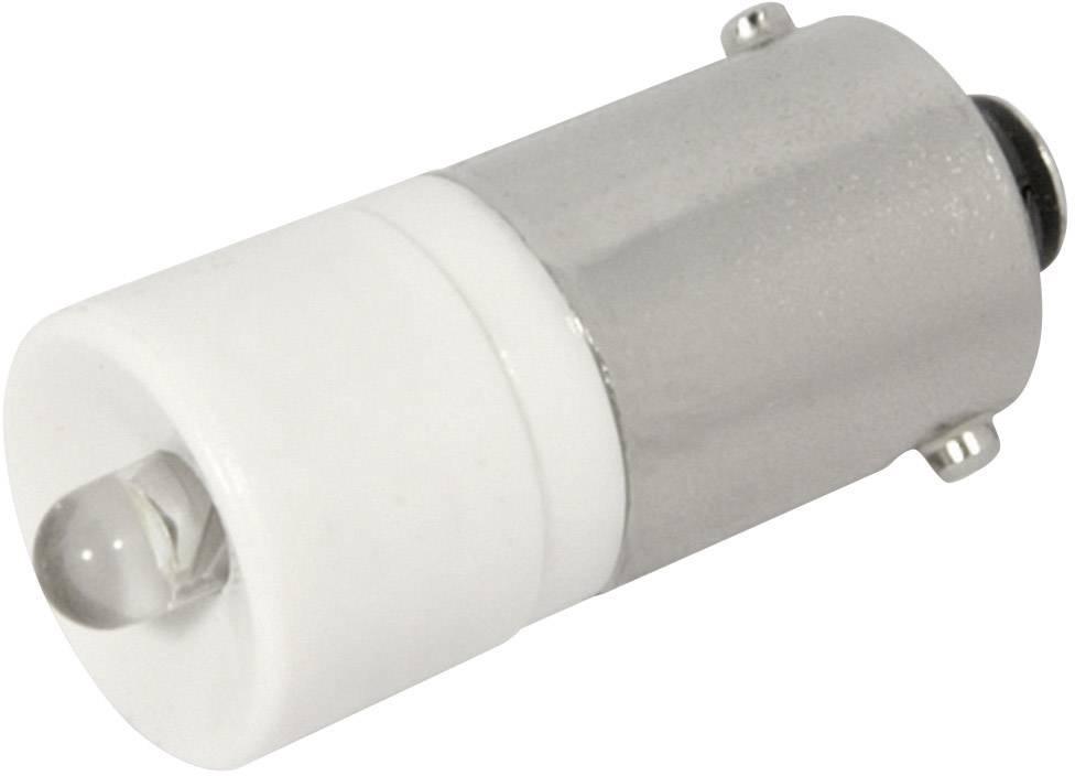 LEDžiarovka CML 186003BW3, BA9s, 24 V/DC, 28 V/DC, 1900 mcd, biela