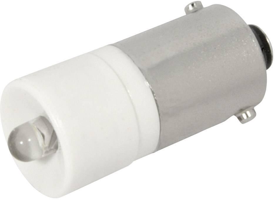 LEDžiarovka CML 186003BW3D, BA9s, 24 V/DC, 24 V/AC, 950 mcd, biela