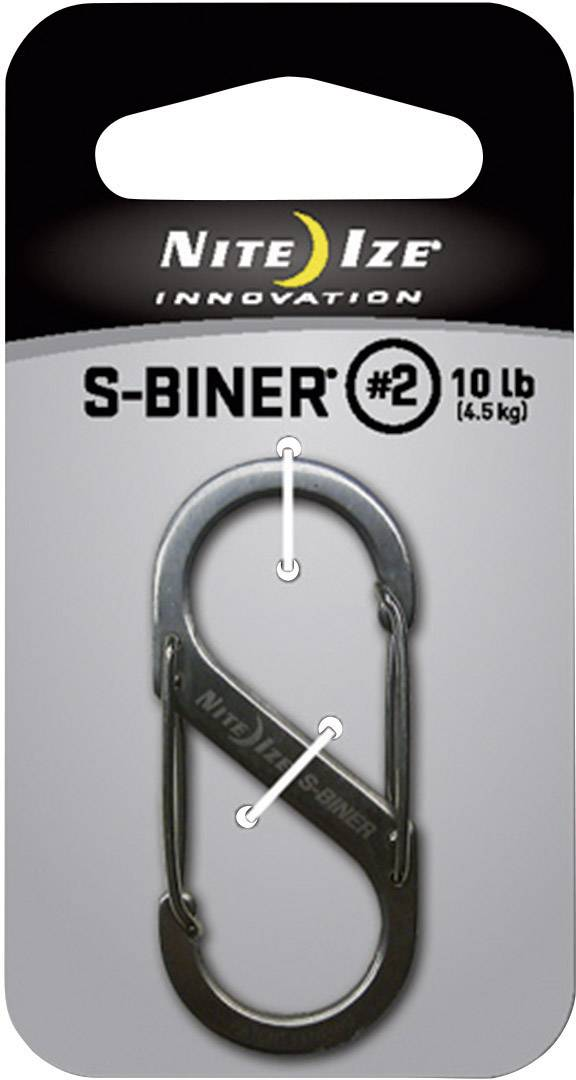 NITE Ize NI-SB2-03-11 S-Biner Gr. 2