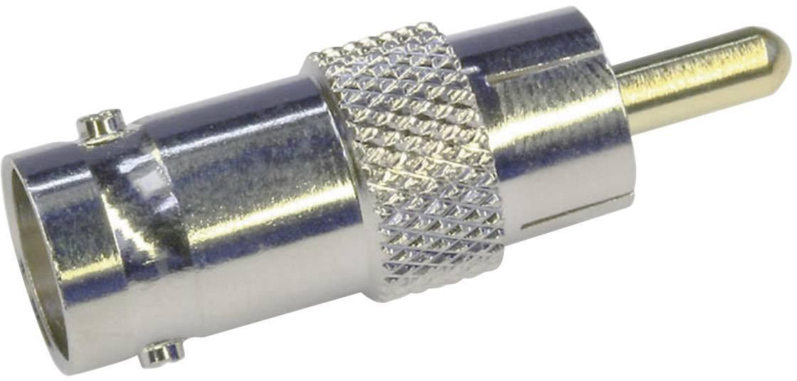BNC adaptér Telegärtner J01008B0838, BNC zásuvka - cinch zástrčka, 1 ks