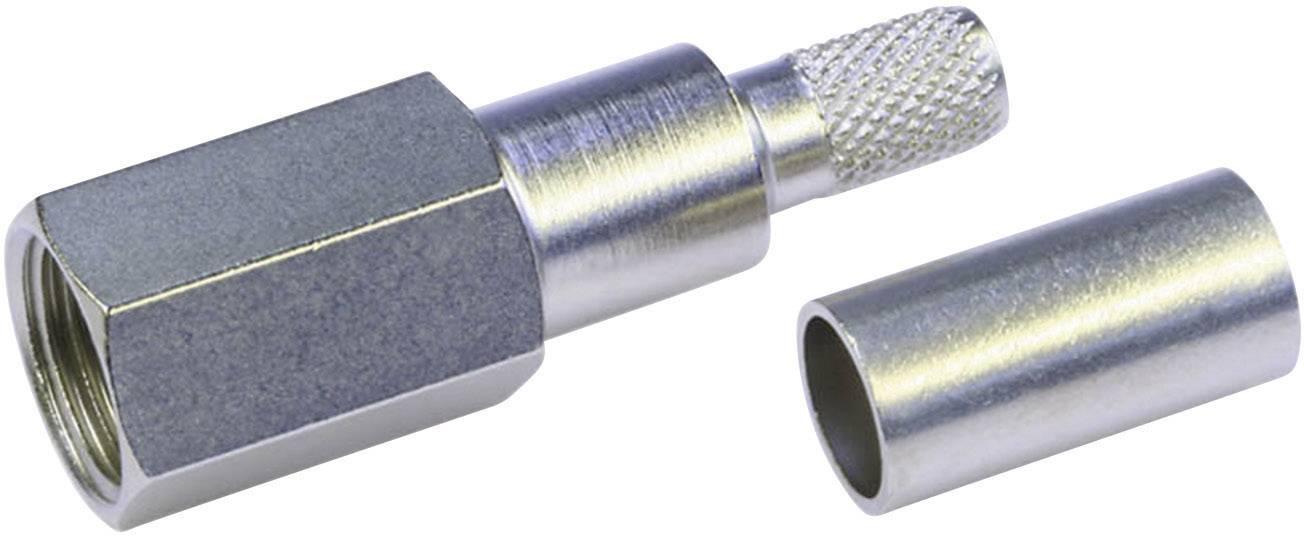FME konektor zástrčka, rovná Telegärtner J01700A0009, 50 Ohm, 1 ks
