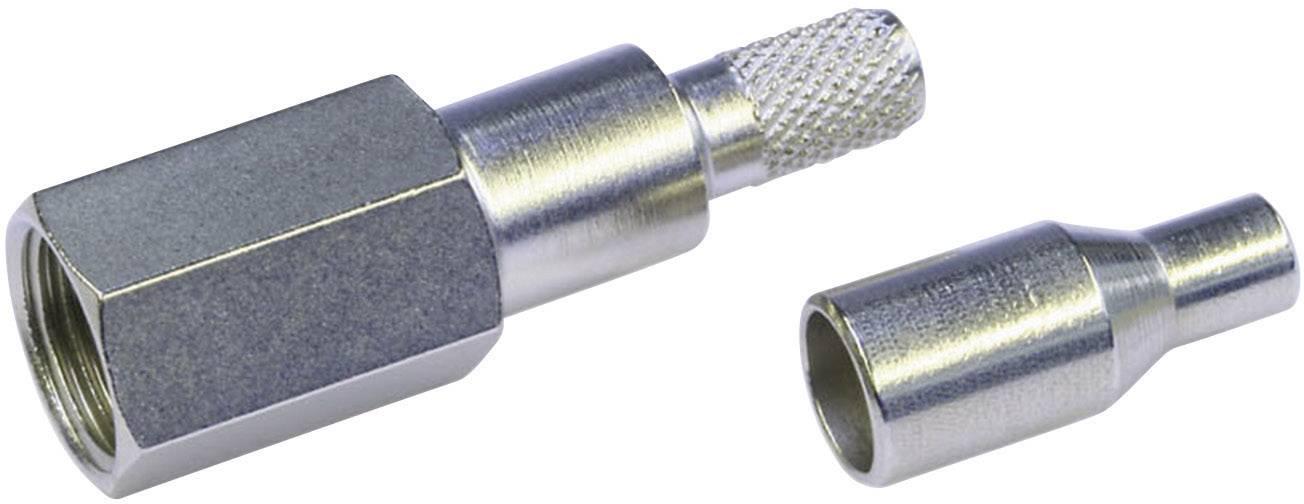 FME konektor - zástrčka, rovná Telegärtner J01700A0007 2.60 mm, 50 Ohm, 1 ks