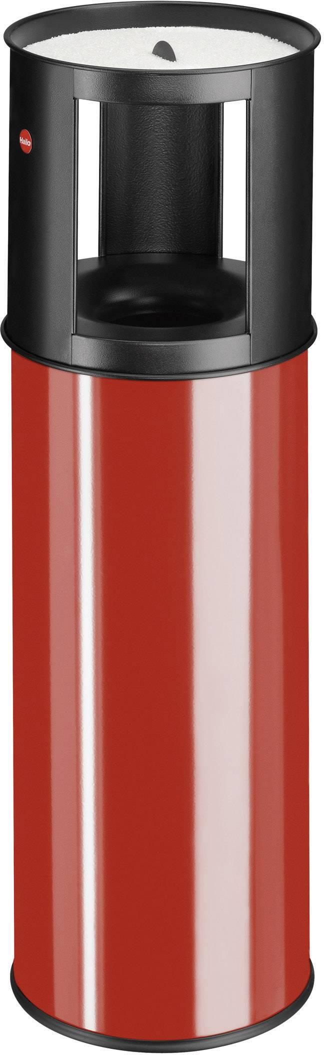 N/A s popelníkem Hailo ProfiLine care L, 800 mm, Vnější Ø 260 mm, 25 l, červená
