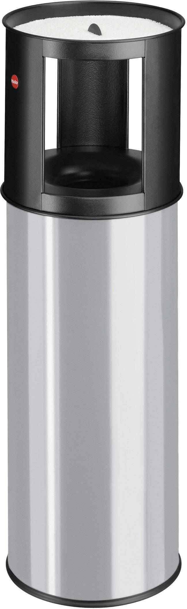 N/A s popelníkem Hailo ProfiLine care L, 800 mm, Vnější Ø 260 mm, 25 l, stříbrnošedá