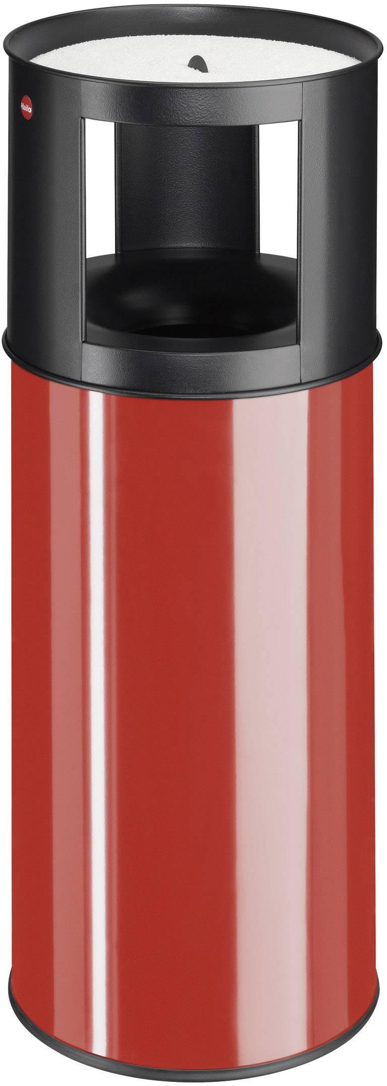 N/A s popelníkem Hailo ProfiLine care XL, 800 mm, Vnější Ø 330 mm, 40 l, červená