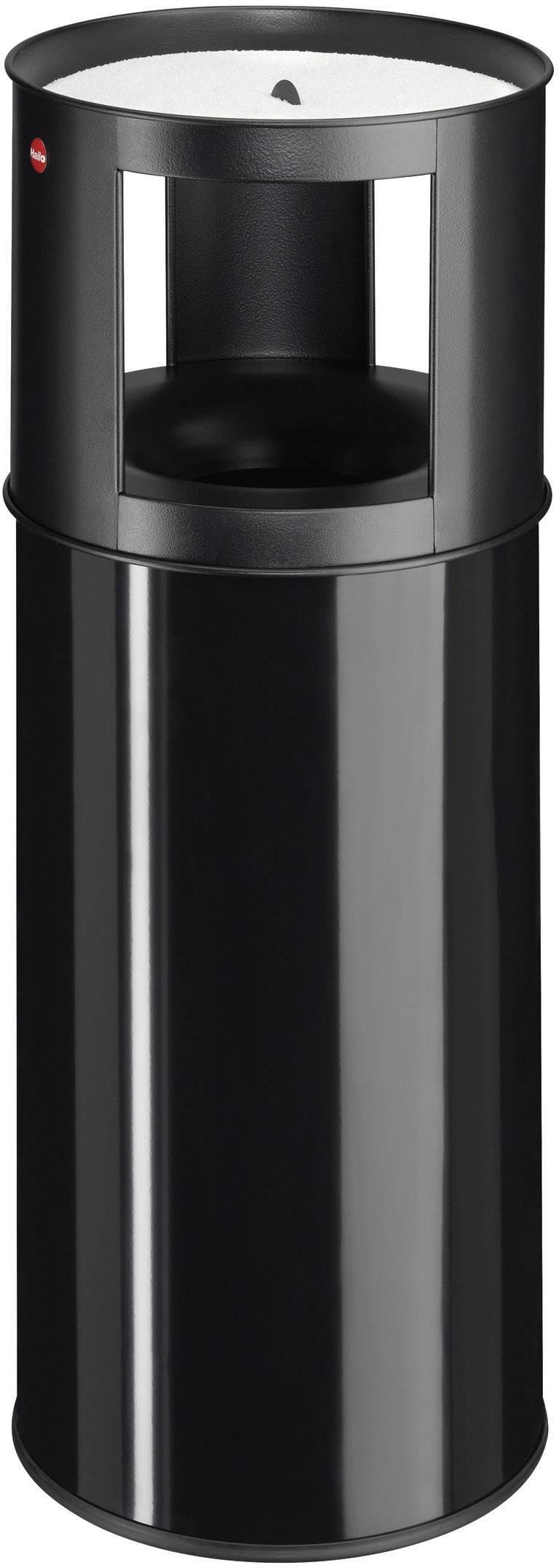 N/A s popelníkem Hailo ProfiLine care XL, 800 mm, Vnější Ø 330 mm, 40 l, černá