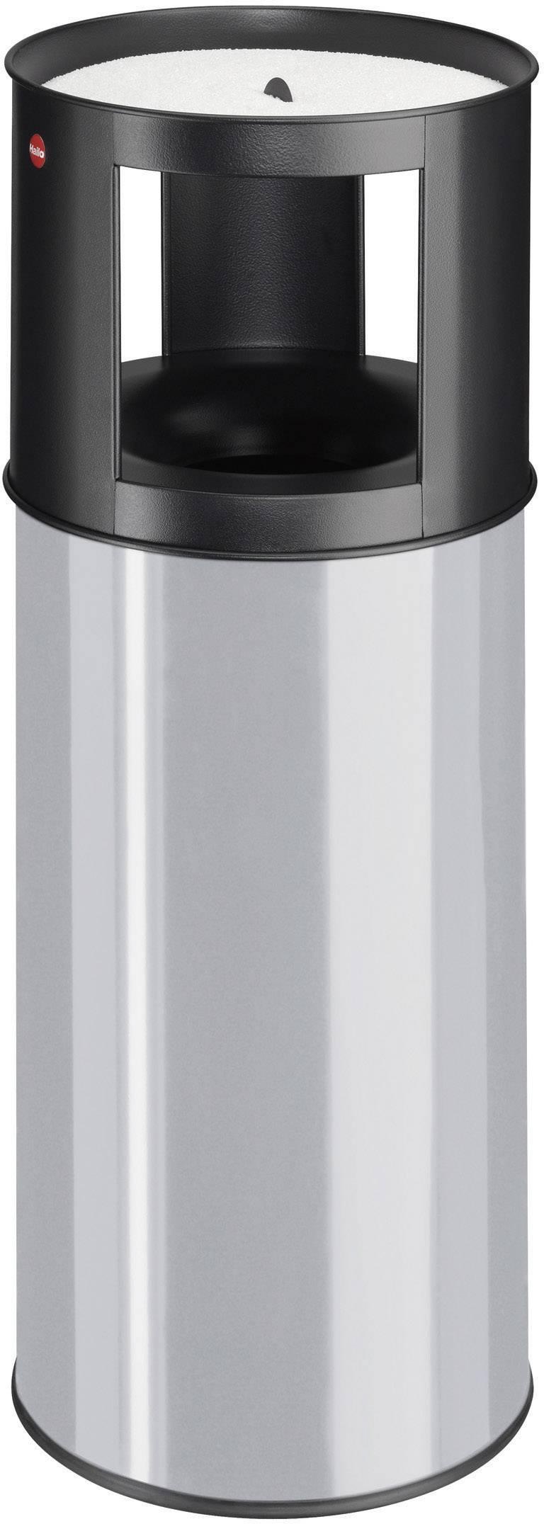 N/A s popelníkem Hailo ProfiLine care XL, 800 mm, Vnější Ø 330 mm, 40 l, stříbrnošedá