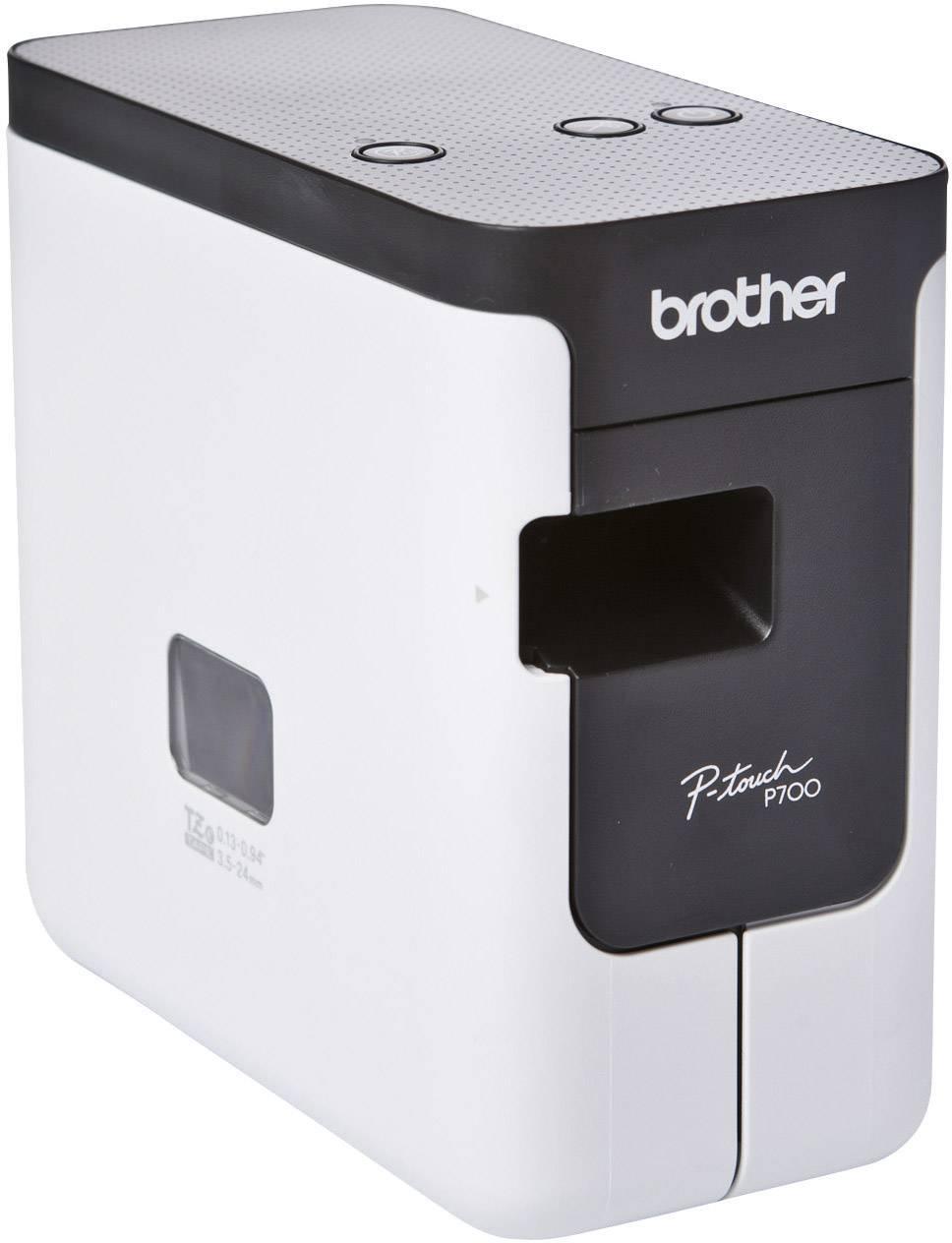 PC štítkovač Brother P-touch P700 PTP700ZG1, vhodný pro pásky TZ, Hse