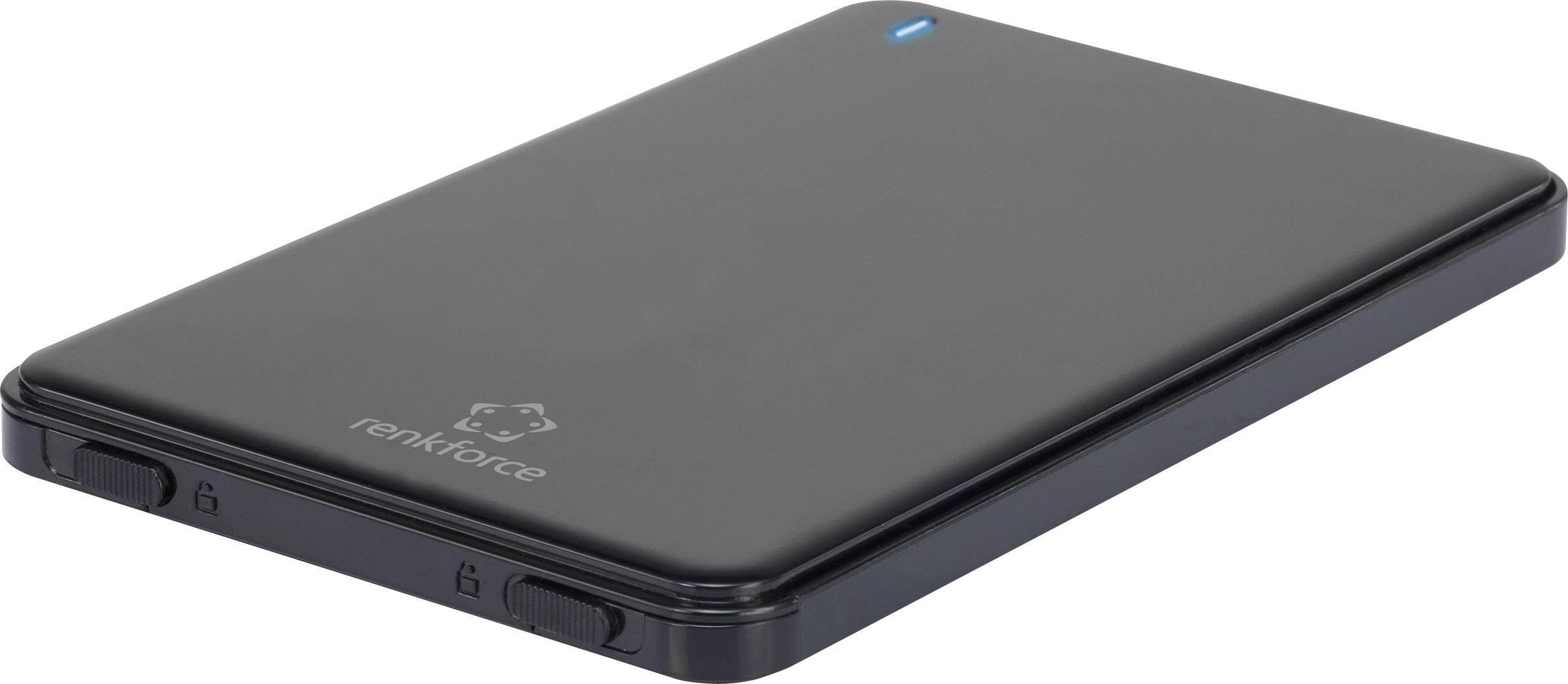 """Kryt na SATA pevný disk Renkforce, 2,5 """", USB 3.0, HDA270A3P"""