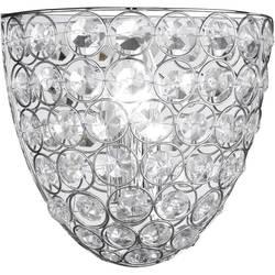 Stropní svítidlo úsporná žárovka WOFI Holly 4568.01.01.0220, E14, 40 W, chrom