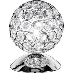 Stolní lampa halogenová žárovka G9 33 W WOFI Holly 8568.01.01.0130 stříbrná