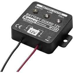 Modul pro sledování stavu nabití 12V baterií Kemo M188, 13 x 40 x 40 mm