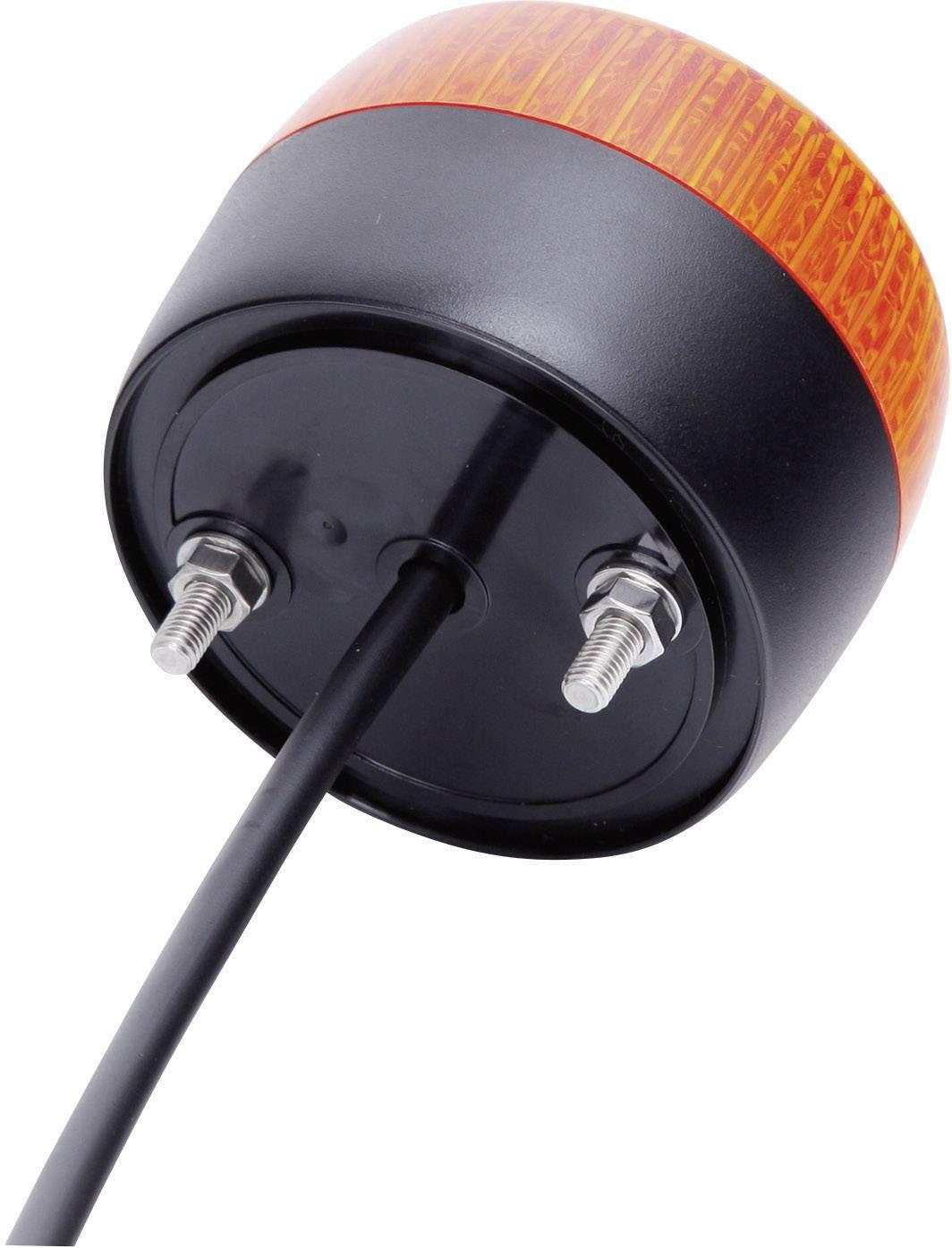 LED signalizačné osvetlenie Auer Signalgeräte PCH 861501405, oranžová, trvalé svetlo, blikajúce, 24 V/DC, 24 V/AC