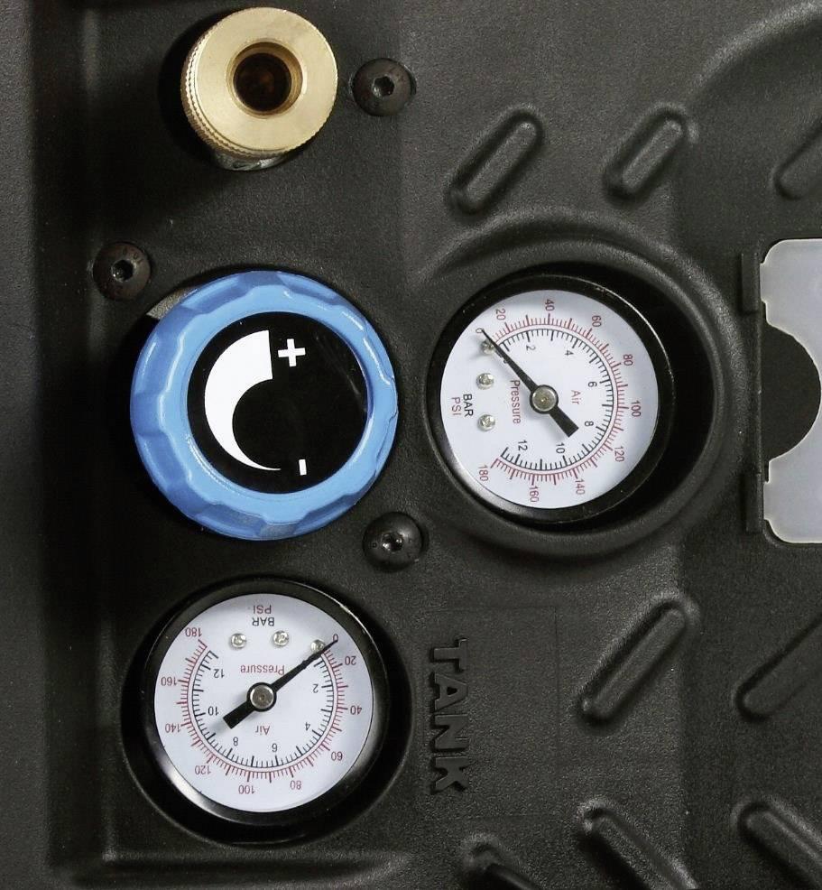 Přenosný pístový kompresor Aerotec Airliner 5 Go 200680, objem tlak. nádoby 5 l