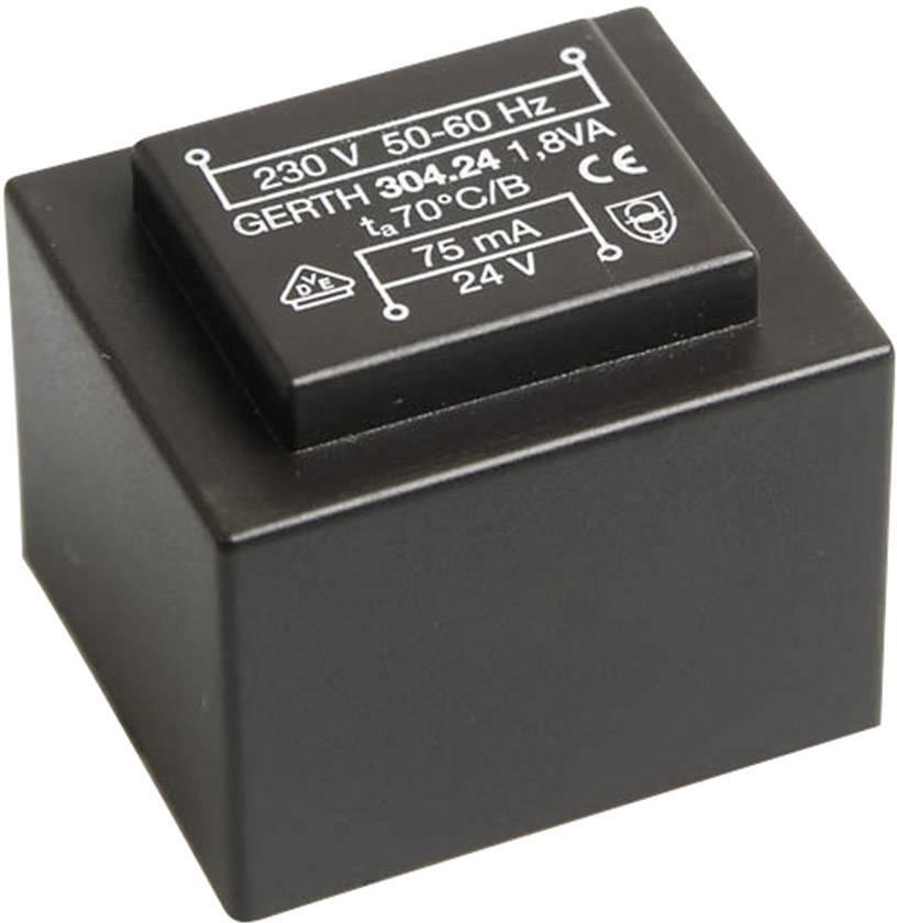 Transformátor do DPS Gerth PT302101, 1.80 VA