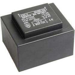 Transformátor do DPS Gerth EI 48/16,8, prim: 230 V, Sek: 2x 15 V, 333 mA, 10 VA
