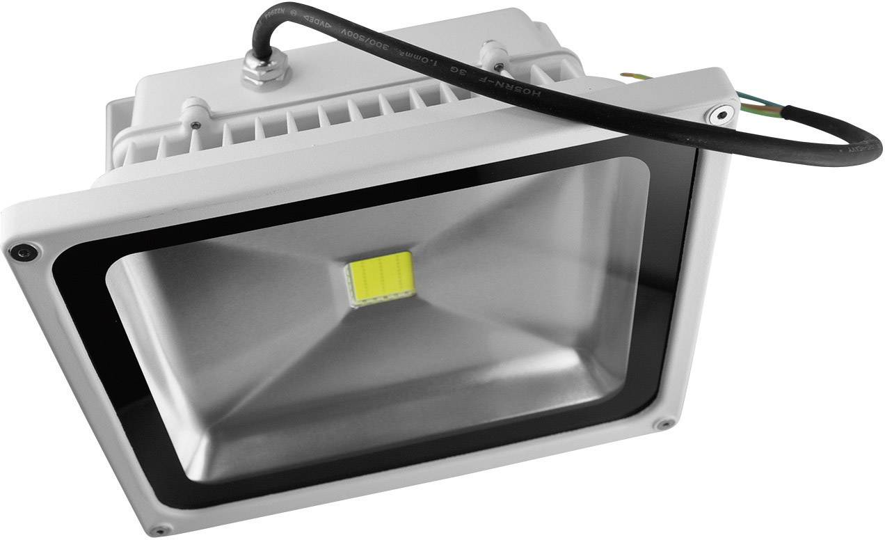 LEDvonkajšieosvetlenie DioDor DIO-FL20W-W, 20 W, denné svetlo, biela