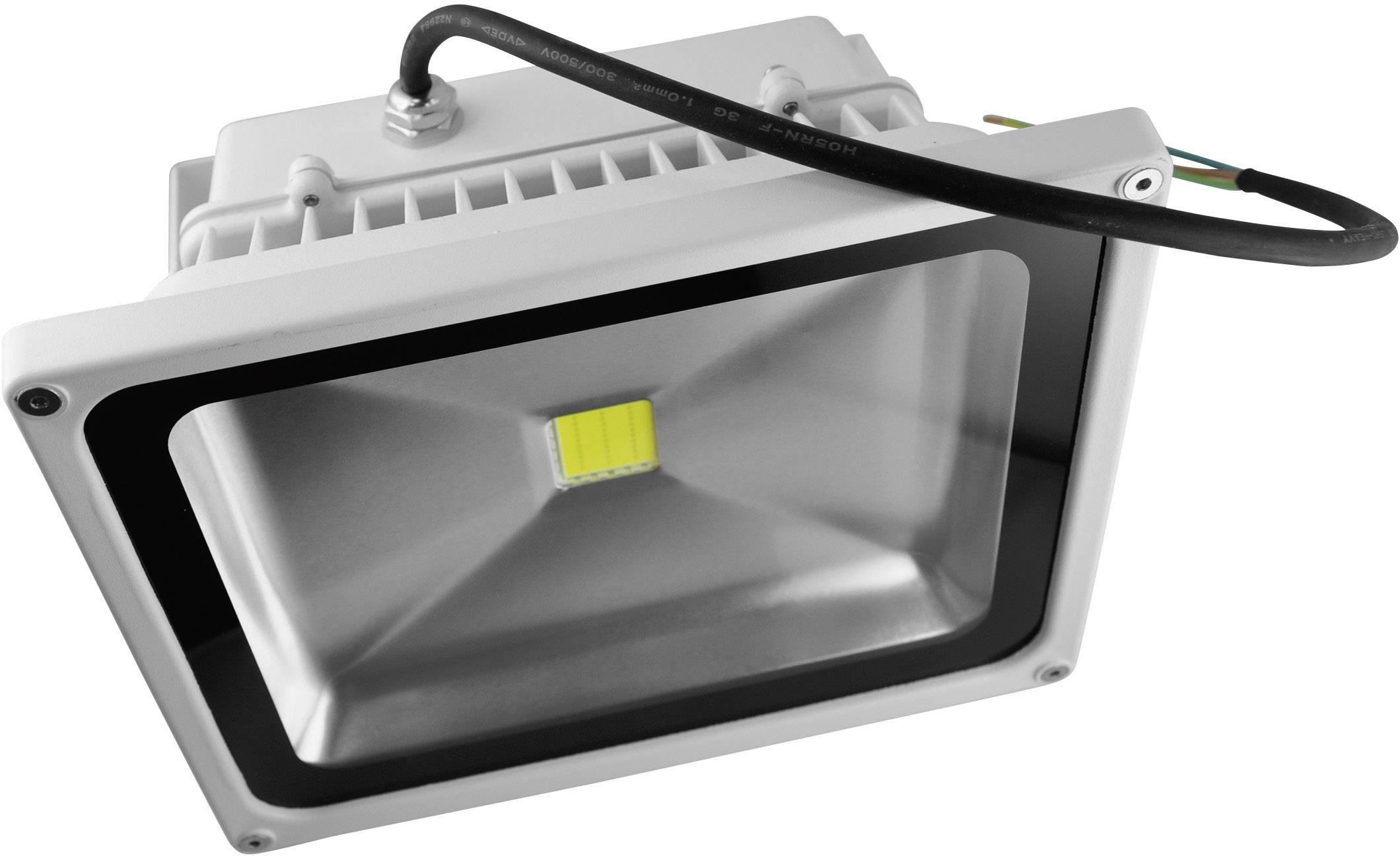 LEDvonkajšieosvetlenie DioDor DIO-FL20N-W, 20 W, teplá biela, biela