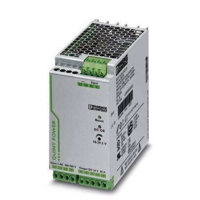 Síťový zdroj na DIN lištu Phoenix Contact QUINT-PS/ 3AC/24DC/20/CO, 1 x, 24 V/DC, 20 A, 480 W