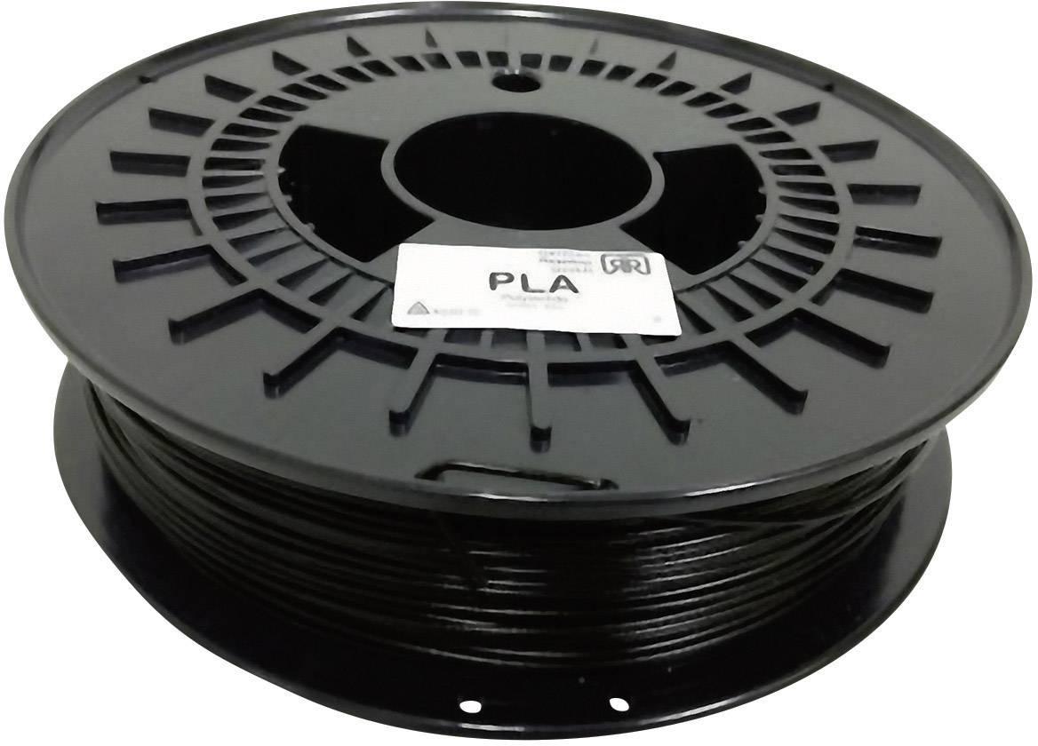 Vlákno pro 3D tiskárny German RepRap 100256, PLA plast, 1.75 mm, 750 g, černá