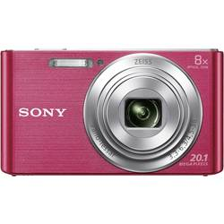 Digitální fotoaparát Sony Cyber-Shot DSC-W830P, 20.1 MPix, Zoom (optický): 8 x, růžová