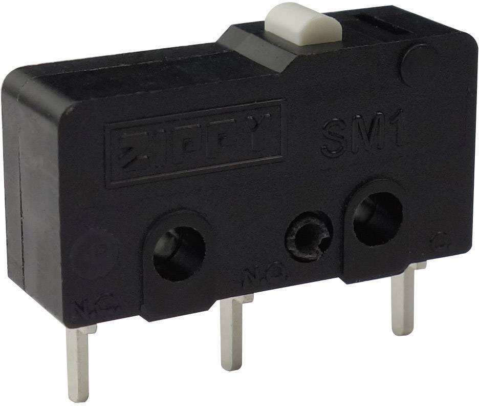 Mikrospínač - zdvíhadlo Zippy SM1-N6S-00P0-Z, 250 V/AC, 6 A