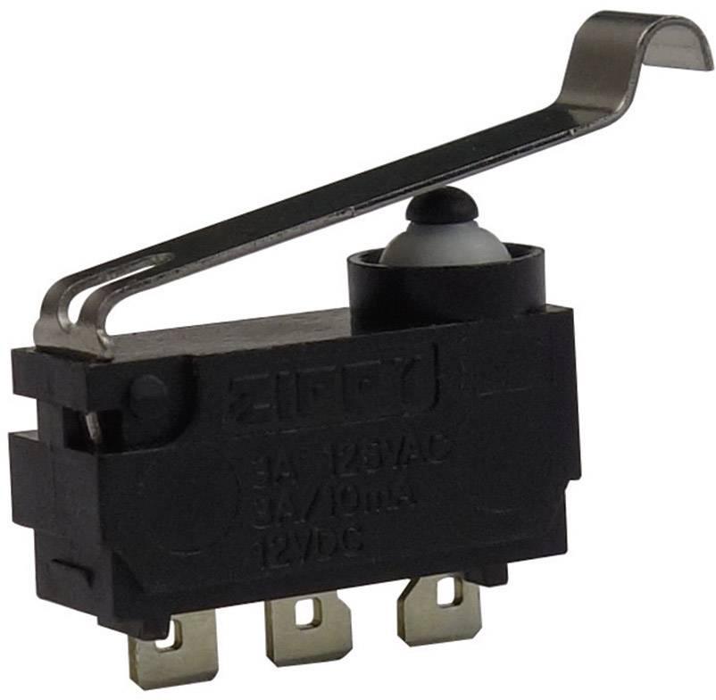Mikrospínač - simulované koliesko Zippy DW-N3S-04A0A-Z, 12 V/DC, 3 A