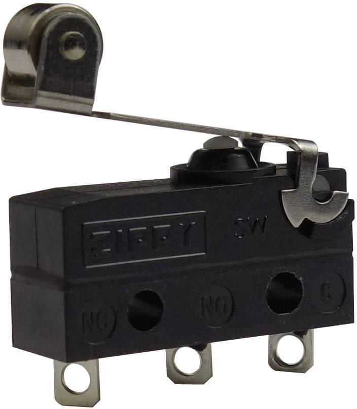 Mikrospínač - páka s valčekom Zippy SW-05S-05A0-Z, 250 V/AC, 6 A, IP67