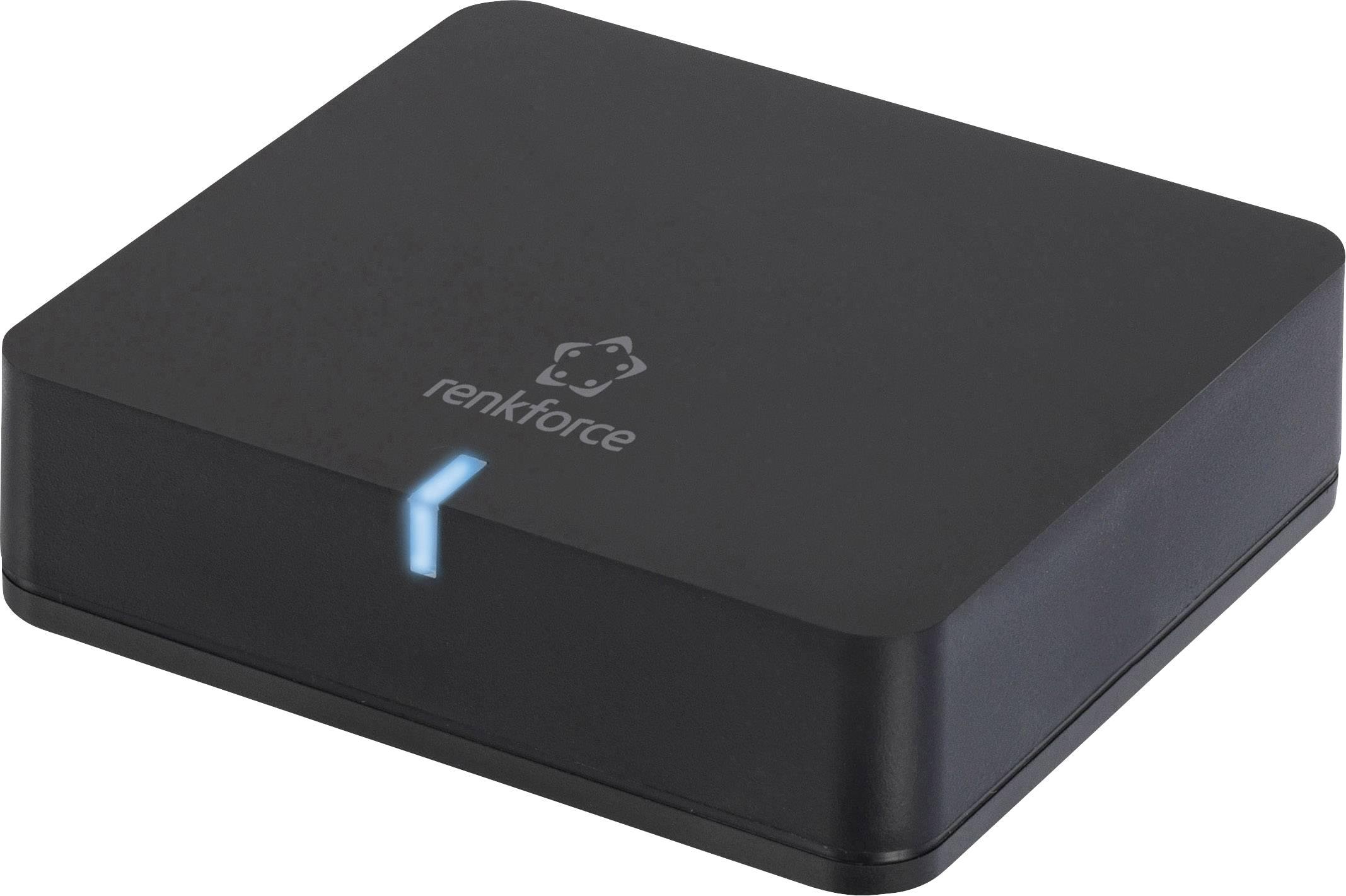Bezdrôtový audio prijímač Renkforce Bluetooth 3.0