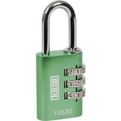 Visací zámek na heslo Kasp K10530GRED, 30 mm, zelená