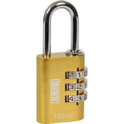 Visací zámek na heslo Kasp K10530YELD, 30 mm, žlutá