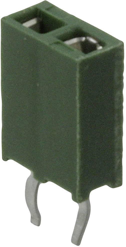 Konektor HV-100 TE Connectivity 215297-2, zásuvka rovná, 2,54 mm, 3 A