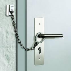 Dveřní bezpečnostní řetízek s kroužkem na kliku ABUS ABTS21540
