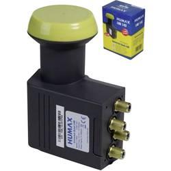 Satelitní konvertor Quad-LNB Humax 143-B Počet účastníků: 4 Velikost feedu: 40 mm pozlacené konektory