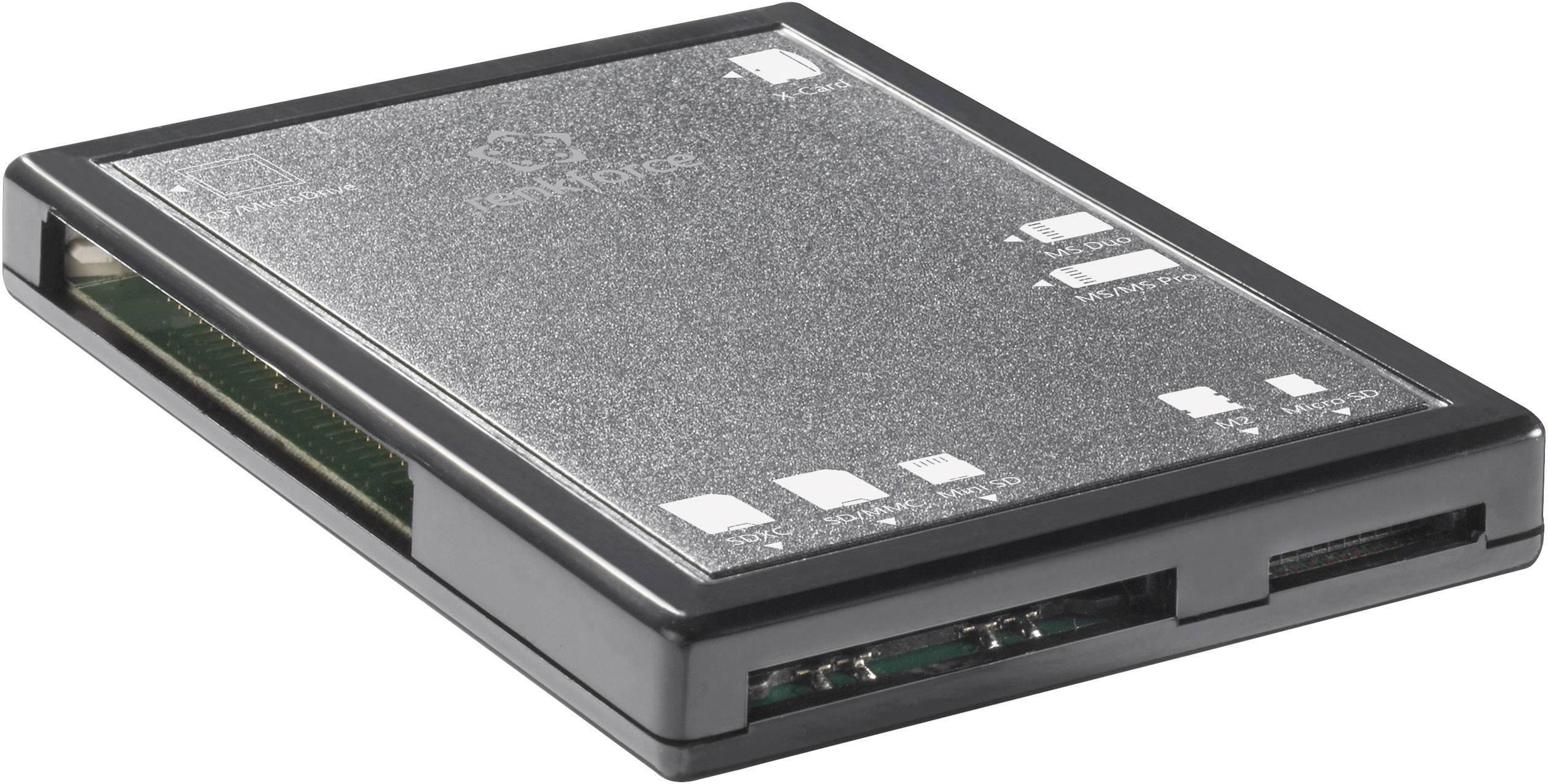 Externí čtečka paměťových karet Renkforce CR01e, USB 2.0