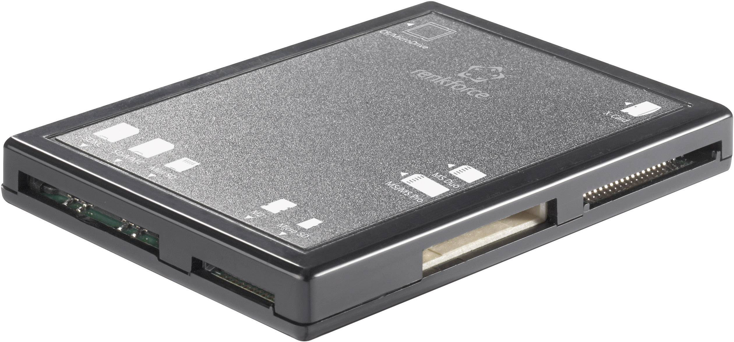 Externá čítačka pamäťových kariet Renkforce CR01e, USB 2.0