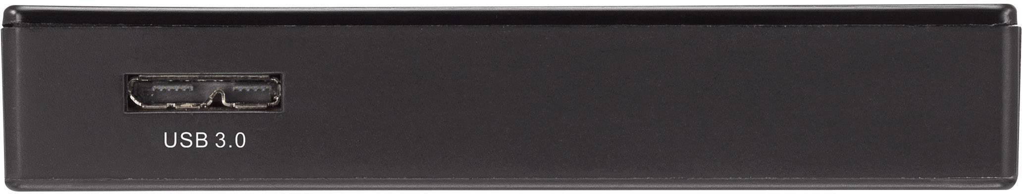 Externí čtečka paměťových karet Renkforce CR04e-A, USB 3.0, černá