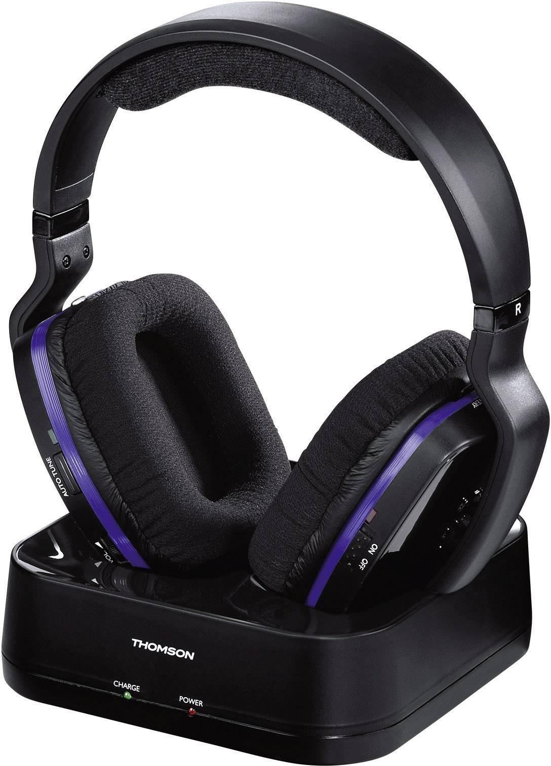 Bezdrôtové slúchadlá Thomson WHP3311BK 00131959, čierna