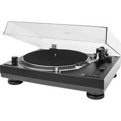 USB gramofon Dual DTJ 301.1 USB, přímý pohon, černá